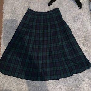 061e8f78224495 Pendleton Skirts | Authentic Menzies Tartan Skirt Size 12 | Poshmark